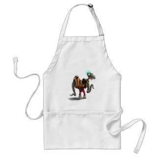 monster 2 apron