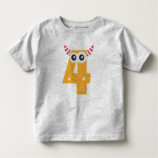 Monster 4 toddler T-Shirt