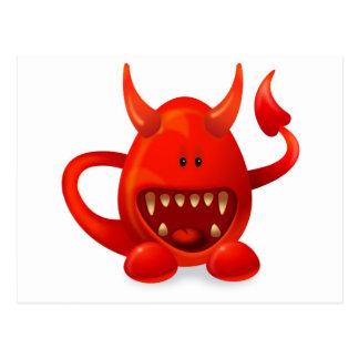 Monster 5 postcard