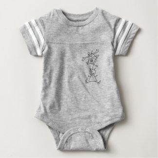 Monster acrobatics baby bodysuit