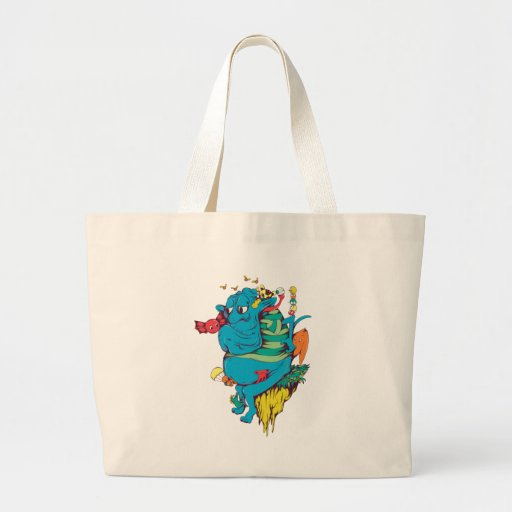 Monster and Creature Fantasy Art Canvas Bag