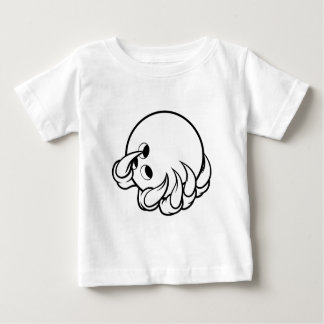 Monster animal claw holding Ten Pin Bowling Ball Baby T-Shirt
