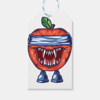 Monster Apple Gift Tags