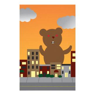 Monster Bear Stationery