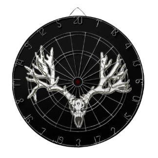 Monster buck deer skull dartboards