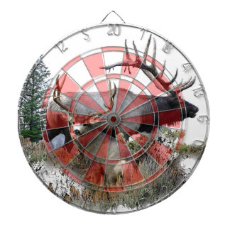 Monster bull trophy buck dartboard