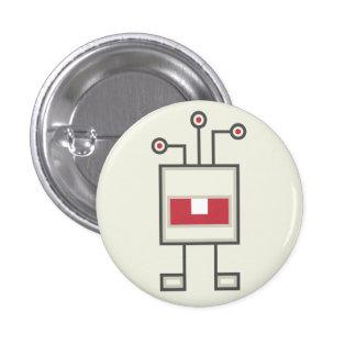 Monster Button: Robot 3 Cm Round Badge