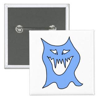 Monster Cartoon in Blue Pins