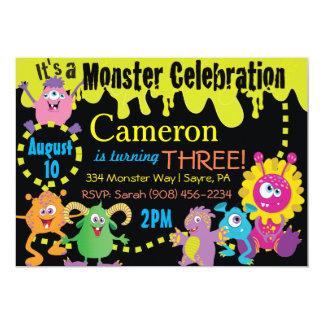 Monster Celebration Invitation