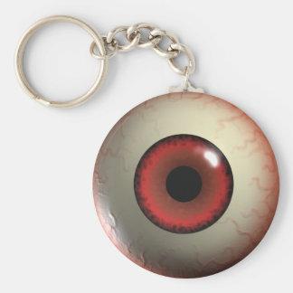 Monster Eye-Ball Key-Chain Key Ring