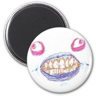 Monster Face Magnet