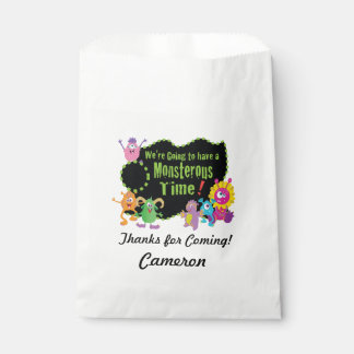 Monster Favour Bags