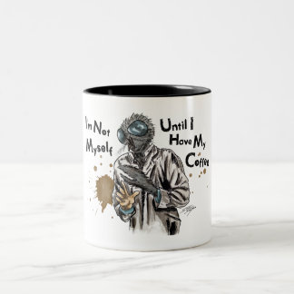 Monster Fly I'm Not Myself Two-Tone Coffee Mug