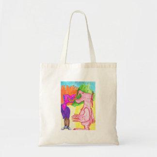 Monster Friends Canvas Bag