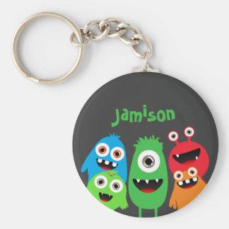 Monster Friends Keychain