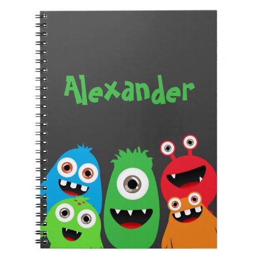 Monster Friends Notebooks