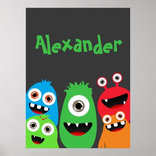 Monster Friends Poster
