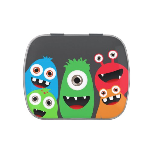 Monster Friends Jelly Belly Tins