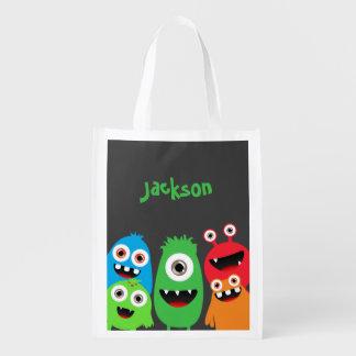 Monster Friends Reusable Grocery Bag