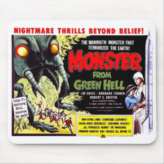 Monster from Green Hell Mouse Pad