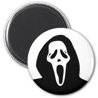 Monster - Ghost 6 Cm Round Magnet