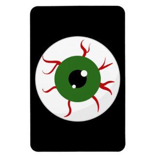 Monster Green Bloodshot Eyeball Magnets