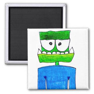 """Monster """"Groen"""" Magnet"""