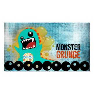 Monster Grunge Business Cards