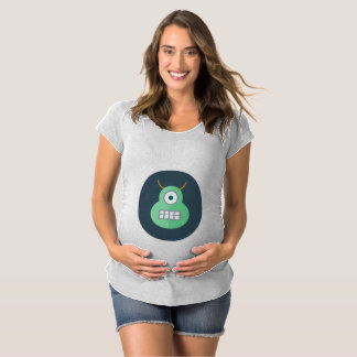 Monster Halloween Maternity T-Shirt