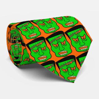 monster,halloween tie