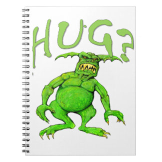 Monster Hug Spiral Notebook