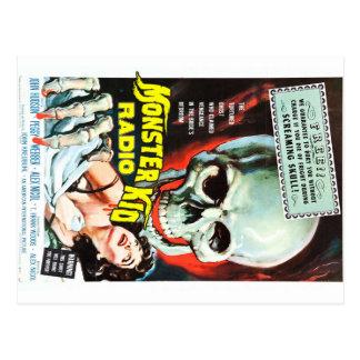 Monster Kid Radio Meets The Screaming Skull Postcard