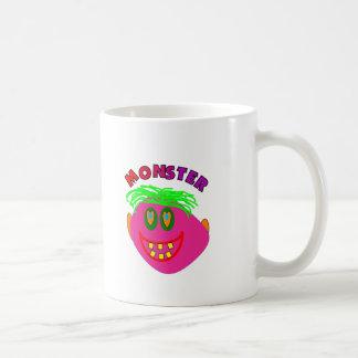 "Monster Kids Gifts ""Adorable Pink Monster Art"" Mug"