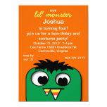 Monster Kids Halloween Birthday Party Invitations 11 Cm X 16 Cm Invitation Card