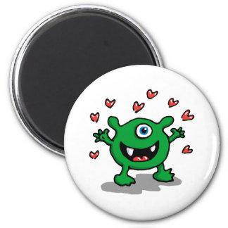 Monster Love Magnet