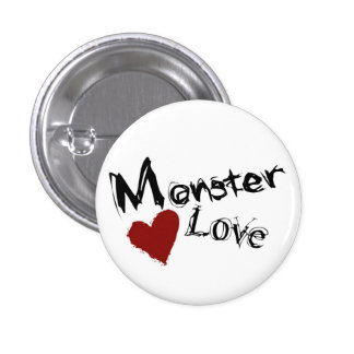 Monster Love Mini Buttons