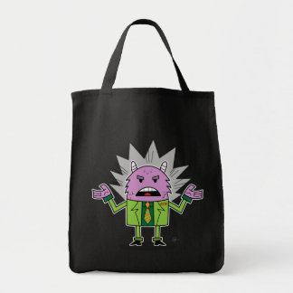 Monster Loves A Suit - Grocery Tote Grocery Tote Bag