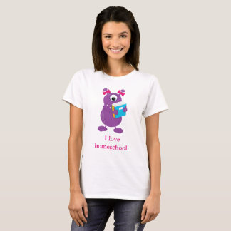 Monster Love's Homeschool T-Shirt