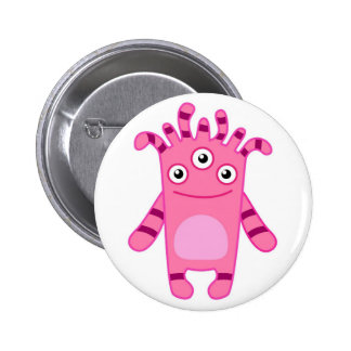 Monster Mania: Meet Sadie! 6 Cm Round Badge