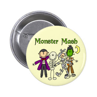 Monster Mash T-shirts and Gifts Button