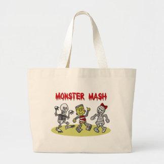 Monster Mash totebag Jumbo Tote Bag