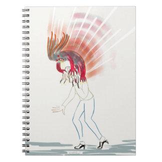 Monster Migraine Attack Notebook