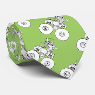 Monster Monster Neck Tie
