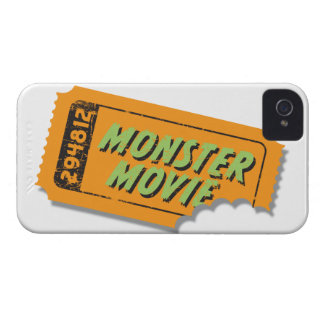 Monster Movie Ticket Blackberry Case