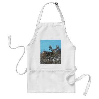 Monster mule deer buck apron