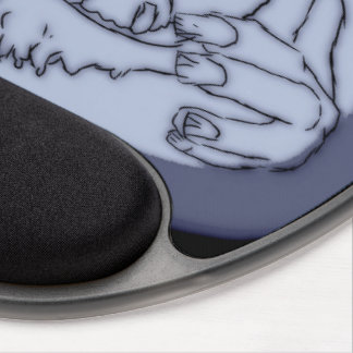 Monster of Rock Gel Mouse Pad