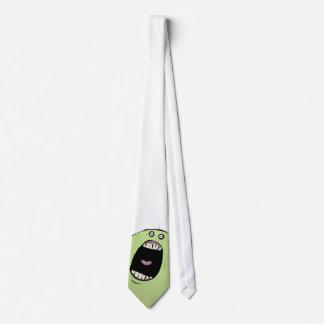 Monster on my tie - exclusive design