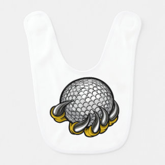 Monster or animal claw holding Golf Ball Bib