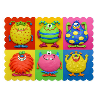 Monster Party 13 Cm X 18 Cm Invitation Card