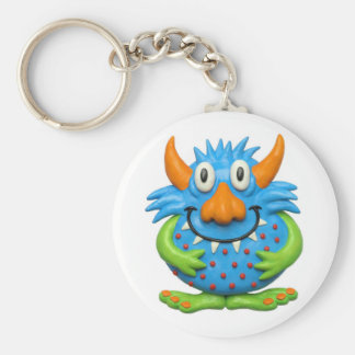 Monster Party Key Ring